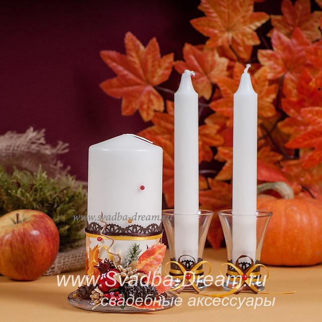 Свечи в подарок на свадьбу 84